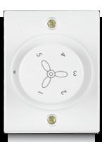 100W, Deluxe Fan Regulator  Rotary Step