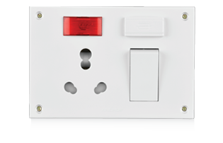 20A/10A,Capton 5-in-1, 4 Fixing Holes