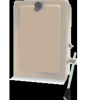 2 Pole D.P Sheet Metal Switch Pilot, 240V-50Hz
