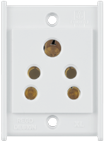6A, 2-in-1 Socket