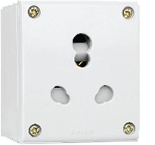 Capton Series 20A & 10A,Uni Socket With Box(Urea BackPirce)