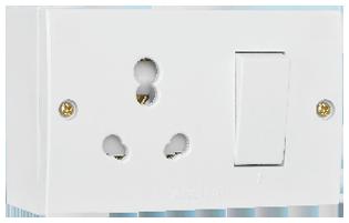 10/20A With JB Box White, (Urea Backpiece 2 fixing)
