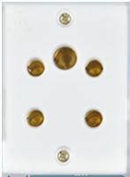 6A, 3-in-1 Socket(2Pin + 3Pin Socket)