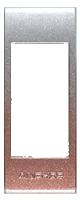 Color Frames Metallic 2-Tone-Silver Magenta