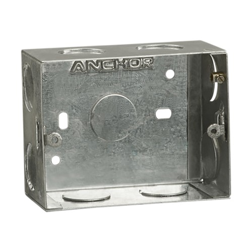 Concealed GI Sheet Metal Boxes - 1.6 mm Thickness