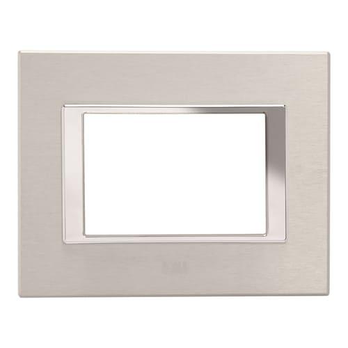 Metal Plate Brushed Alluminium