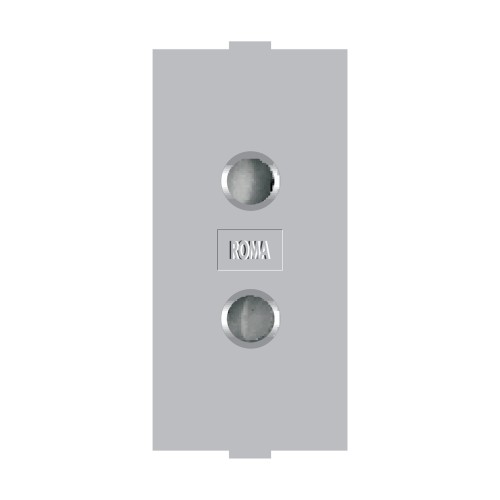 2 Pin Round Socket (with Shutter),6A, 240V~