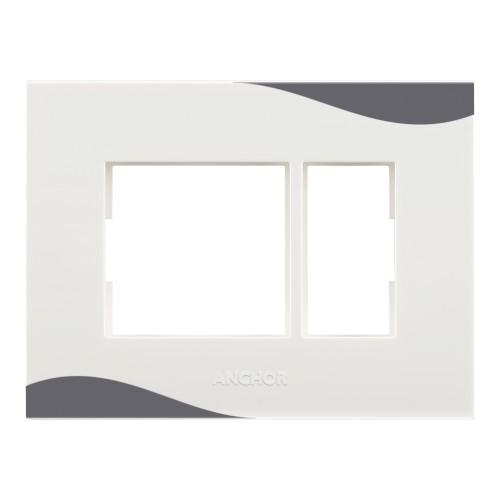 1 Module Plate (Designer Plate -Basalt Grey Color)