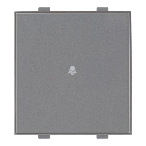 Roma Classic, Touch Doorbell,2M, Silver