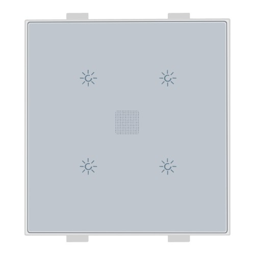 Roma Classic, 4 Touch Switch,1Way, 400W, 2M, White