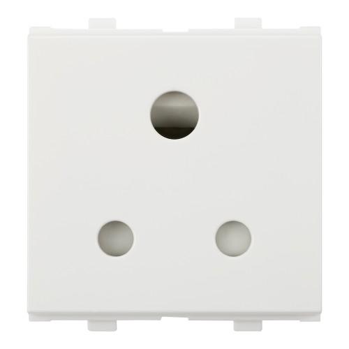 3 Pin Round Socket (w/o Shutter),6A, 240V~