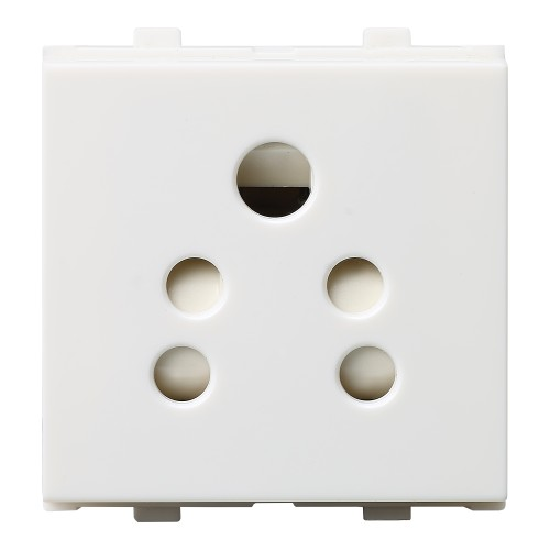 2 in 1 Socket with Shutter