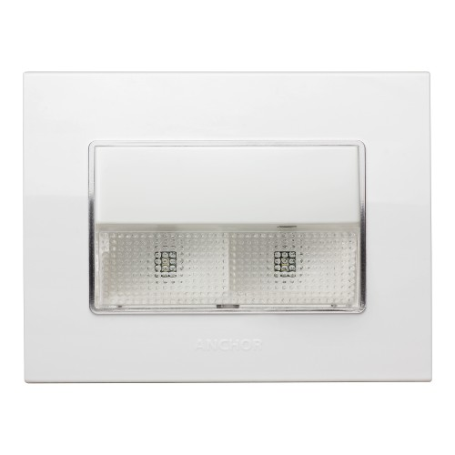 Emergency LED Light Unit with 3M Gina Plate Wh
