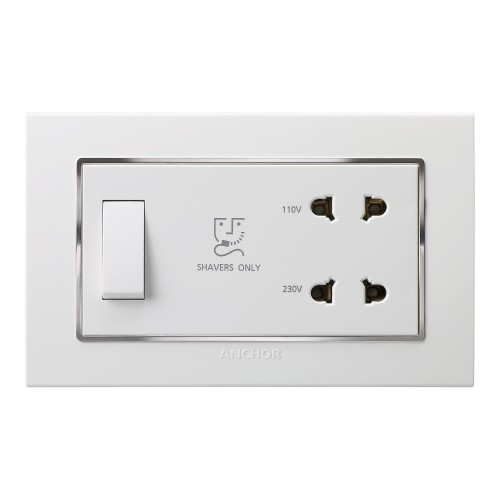 Shaver Socket (with 4M GINA Plate)