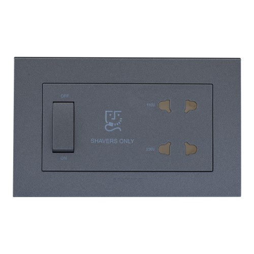 20VA, Shaver Socket (With 4M Plate)