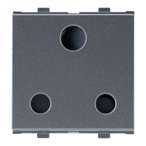 16A, 3pin Socket, (ISI), 2Module