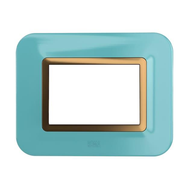 Color Plate Sea Blue