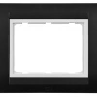 Tresa Plate with Frame (Black)