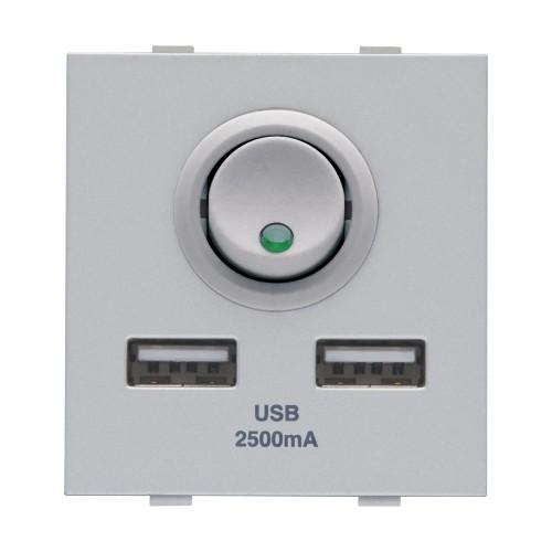 2M, 2 Port, USB Charger,SL