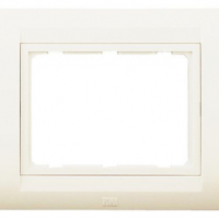 Tresa Plate with Frame (White)